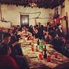 La tradizione: cena anticlericale a Pistoia. Auguri a tutti!