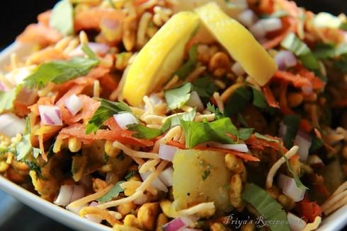 Healthy Indian Snack: Bhelpuri