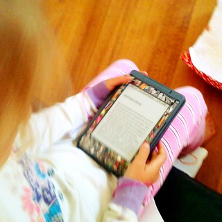 The Birthday Present. A Kindle. For the kid who breathes books.