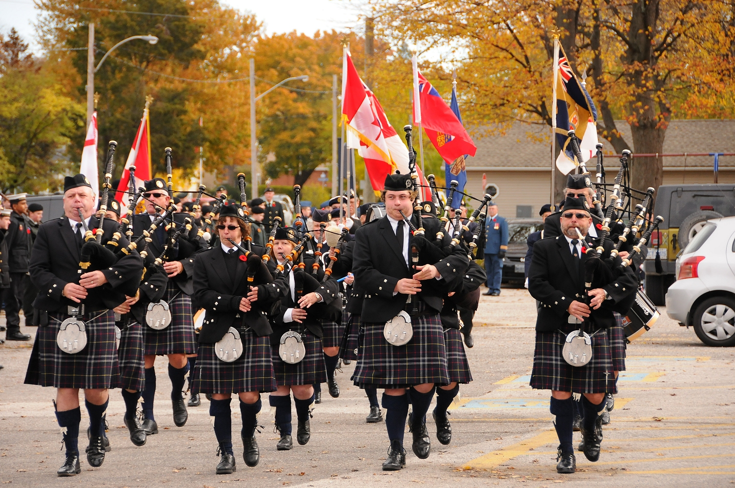 Point Edward Remembrance Day Parade