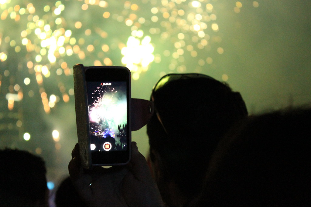 Fireworks at Darling Harbour, Sydney, for Australia Day