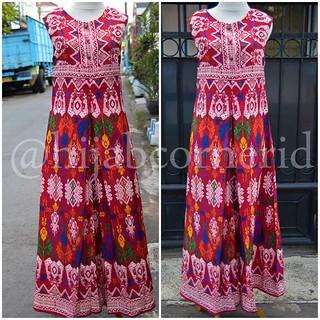 Dress Etnik Motif Tradisional