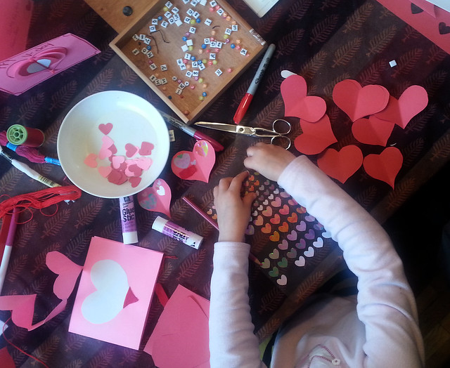 valentine-making