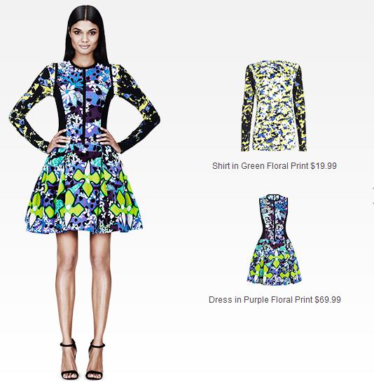 cute & little blog | #PeterPilottoforTarget | purple floral dress