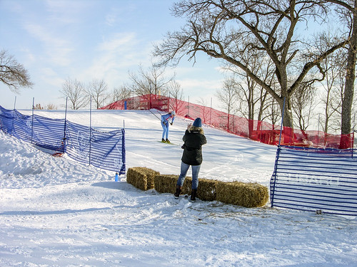 2014 City of Lakes Loppet finish loop