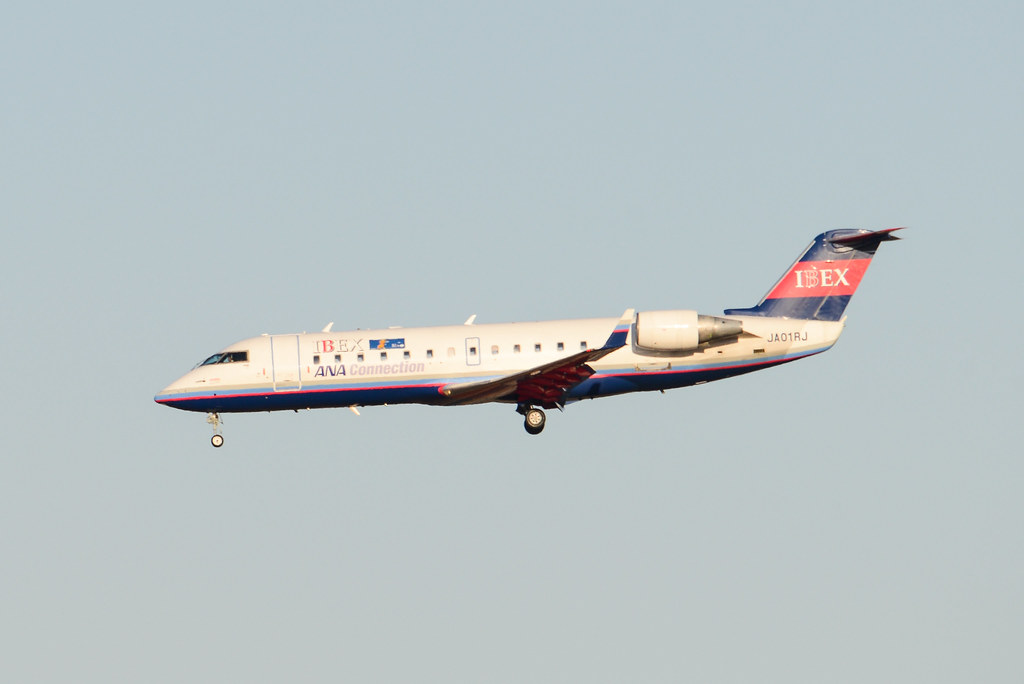 IBEX ANA Connection Canadair CL-600-2B19 Regional Jet CRJ-100LR