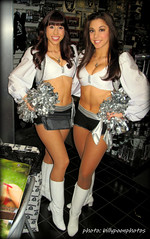 2013 Oakland Raiderettes Ashley & Michelle