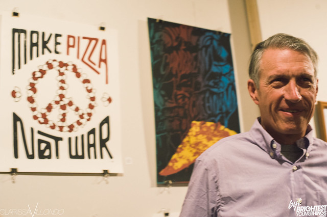 HITS: Pizza Art Show