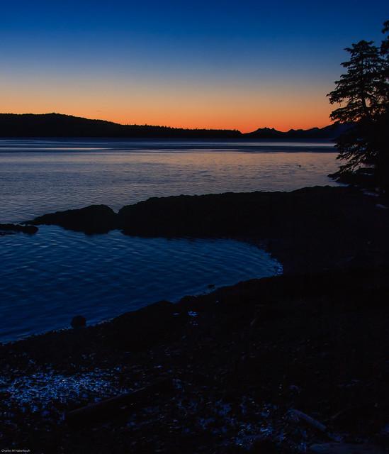 Totem Bight sunset
