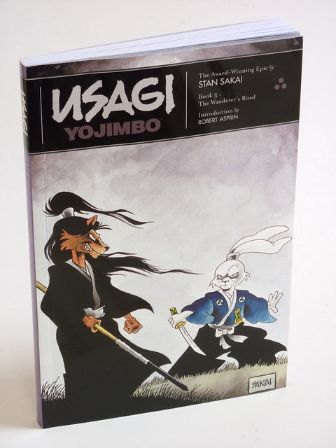 Usagi Yojimbo Book 3 cover photo