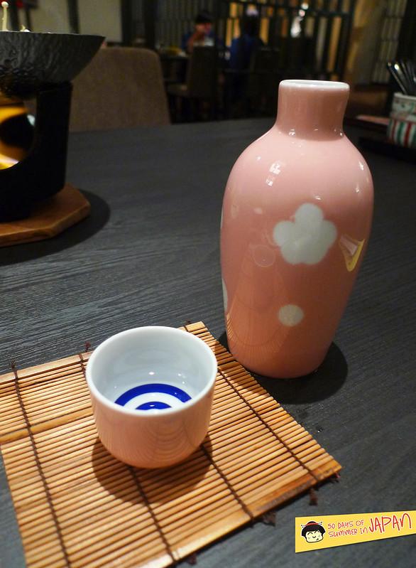 Shogetsu Grand Hotel - Shogetsu style seasonal dinner - sake