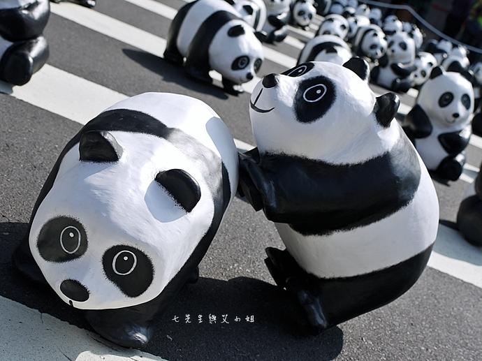 7 紙貓熊 1600貓熊之旅-台北 0224 台北市政府廣場展覽