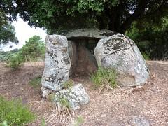 Le dolmen de Tremeca vu de l'avant