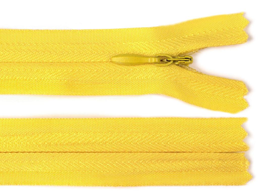 Reißverschluss 20cm, Gelb