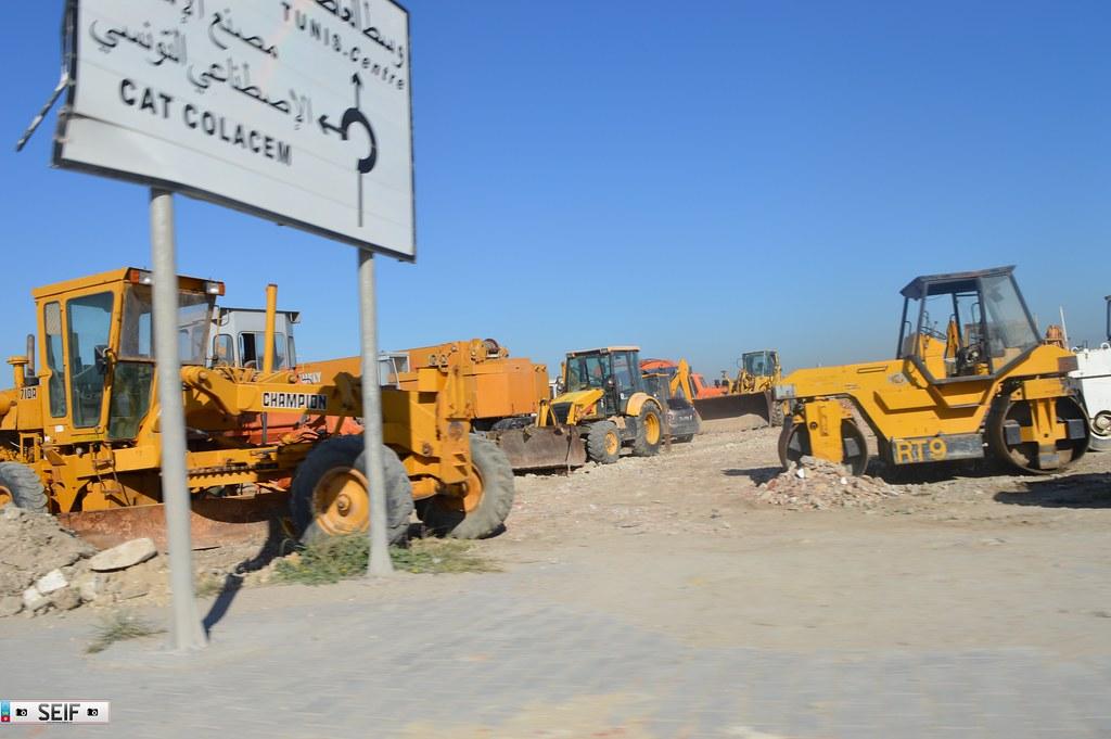 Road machinery Tunisia 2015