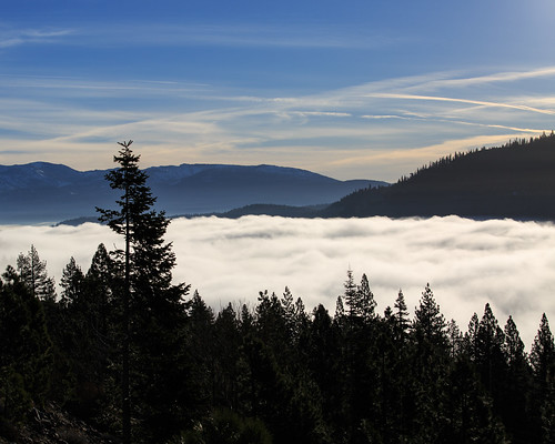 california trees winter lake snow mountains water horizontal fog clouds canon landscape photo tahoe valley vista 5d interstate i80 donner 5d3 5dm3 5diii 5dmiii