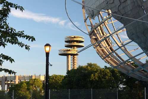 The Unisphere, Flushing meadows park, queens, NYC