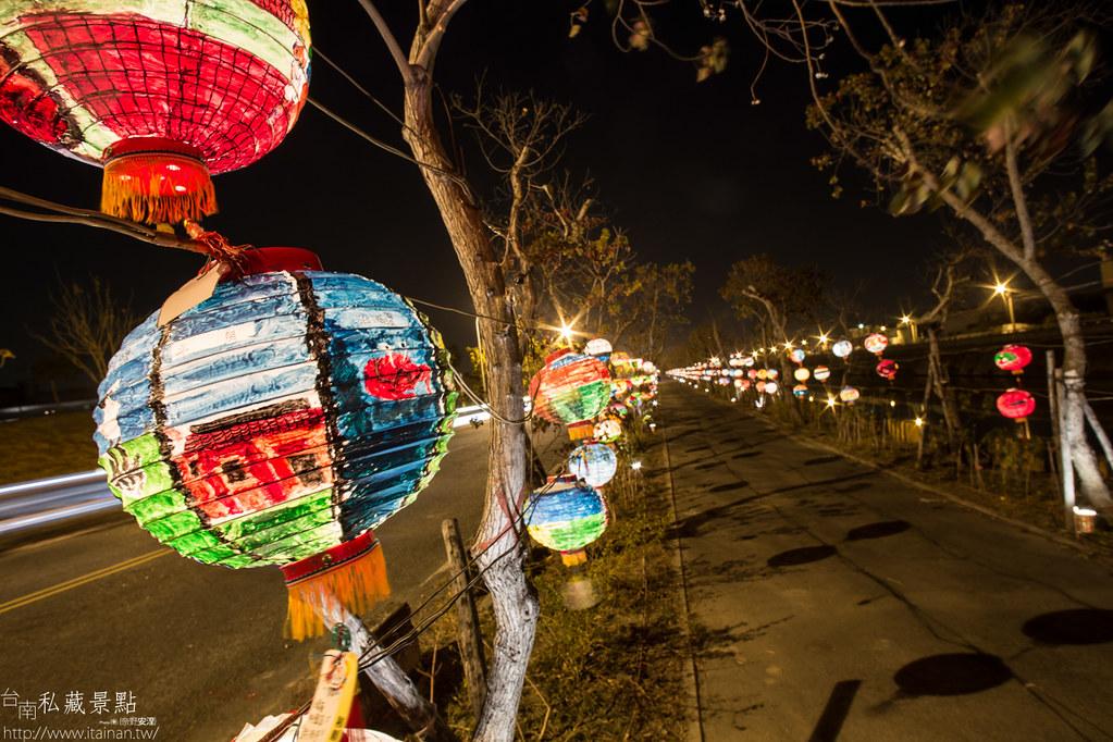 台南私藏景點-點亮台江 2015 山海圳綠道燈會 (7)