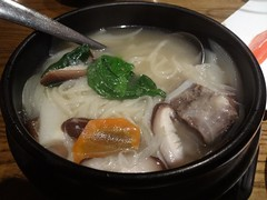 Korean OX Tail Soup Noodle @Manzo, Guyang Road, Sh…