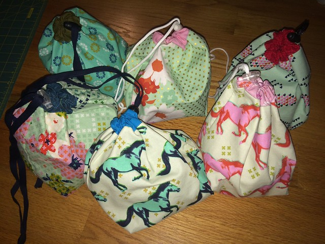 knitting bags, set 1