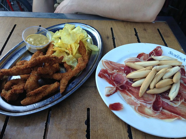 Jamon Iberico & Chicken Fingers