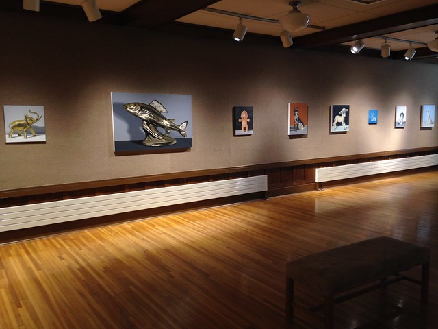 Exhibition at Northern State University - 2015