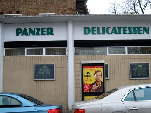Panzer Delicatessen in St John's Wood