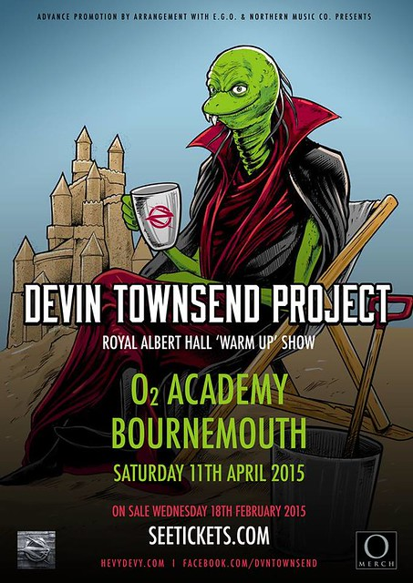 04/11/15 Devin Townsend Project @ O2 Academy, Bournemouth, England