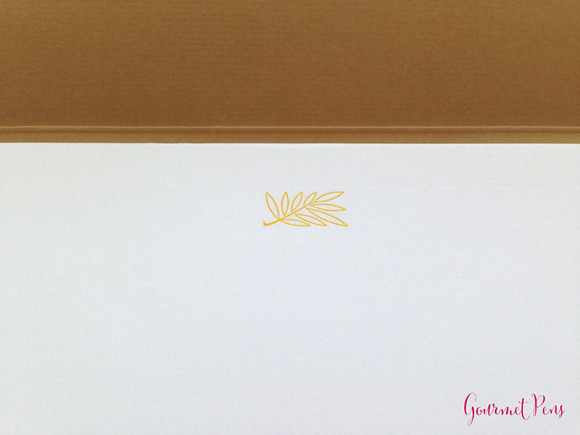Review Le Typographe Palm Leaf Notepad - A4 Plain @NoteMakerTweets (3)