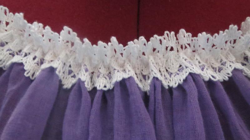 neckline of blouse