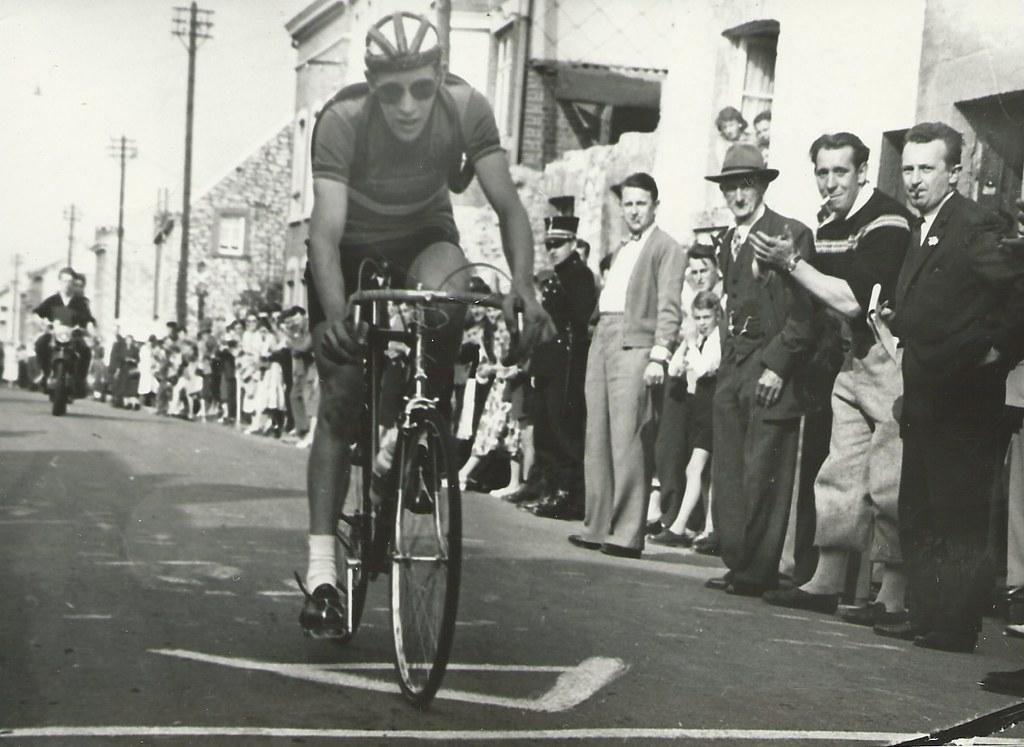 Van Poucke Wenez 1957  1 plaats (foto gentilmente inviata da Jef Thielemans)