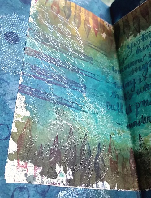 Art journal details