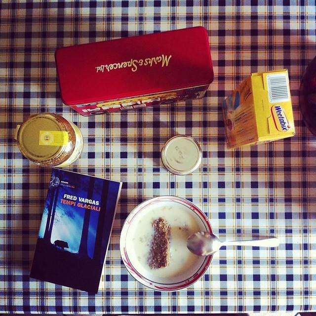 È tempo di un #vargas #tempiglaciali #breakfastpic #weetabix