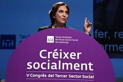 dt., 14/06/2016 - 18:22 - L'alcaldessa assisteix a la inauguració del 5è Congrés del Tercer Sector Social