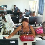 Computer training at CPC May 2016