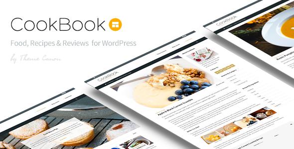 CookBook v1.8 - Food Magazine Blog