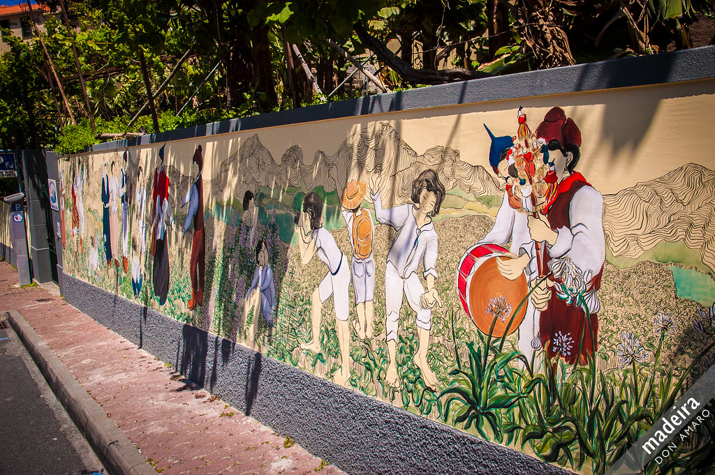 Street Art Mural Ponta do Sol