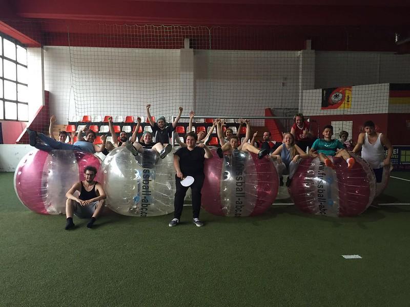11. Tag (Sa. 25.06) - Bubble Fußball