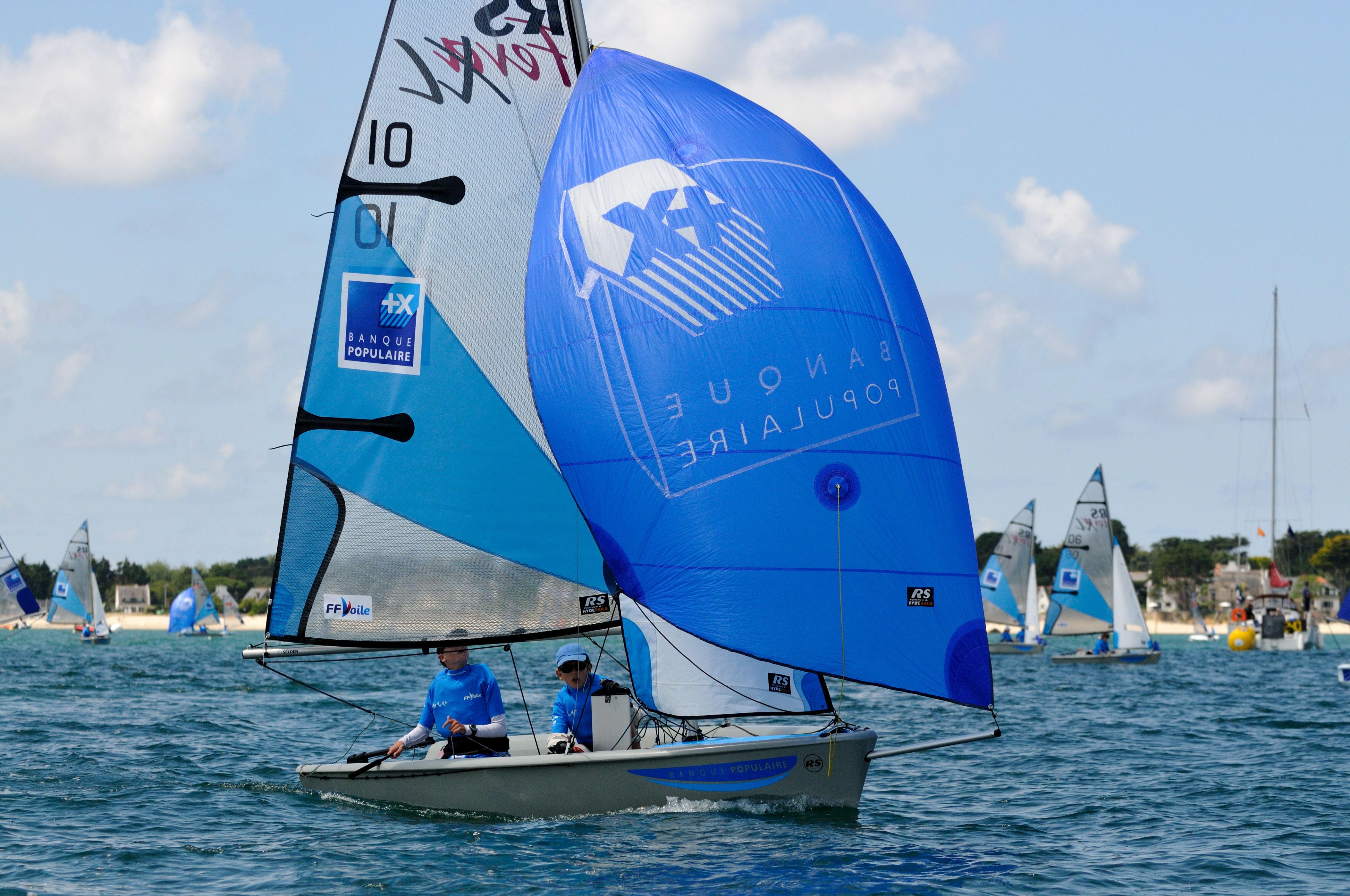Championnat de France Minimes 2014_Copyright M. Laurent-FFVoile