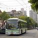 Shanghai Trolleybus No. 19 (H0A-010)