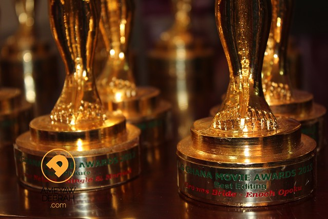 8729701320 f3b5944546 z Photos: Funny Face, Rahim Banda and other winners finally get their Ghana Movie Awards statuettes