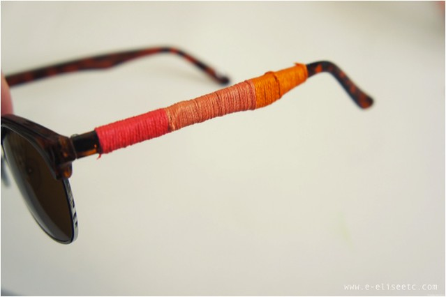 diy wrapped sunglasses 3