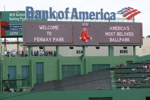 Toronto Blue Jays at Boston Red Sox 11 May 2013