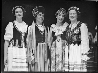 Pageant of Nations, Town Hall. February 1938, by Sam Hood
