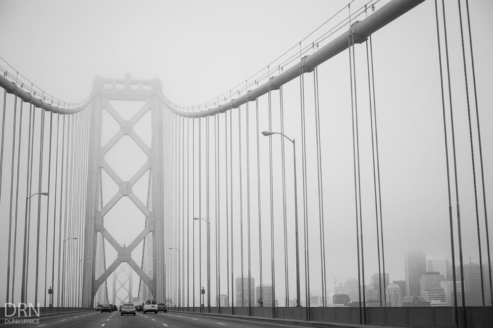 Foggy B&W.