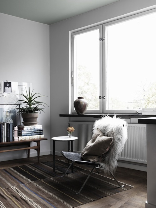 Swedish interior stylist Saša Antić