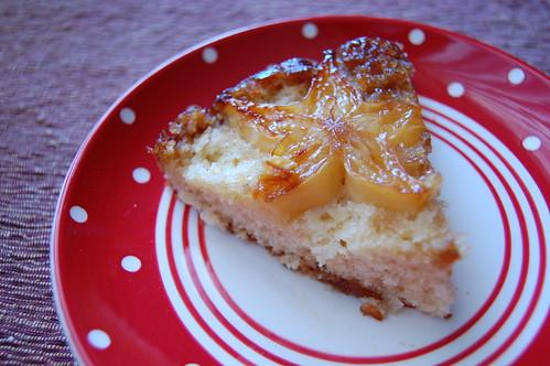 Starfruit Upside Down Cake