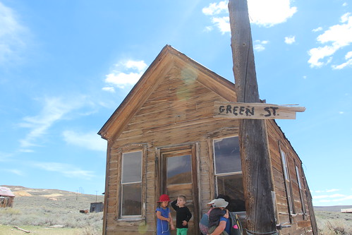 Eastern Sierras - Crowley Lake and Bodie Ghost Town.