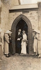 A wedding in the Shannon Methodist Church 1935