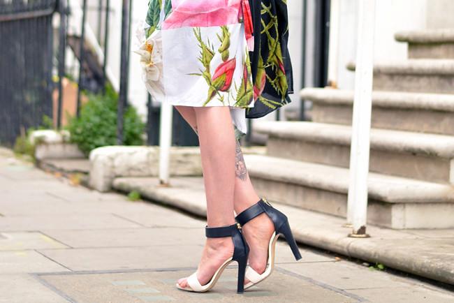 Vivienne Westwood floral dress outfit 2